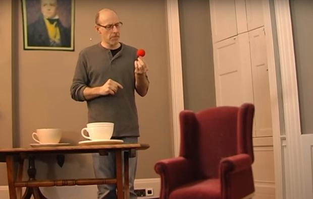 44-секундное видео от профессора психологии о том, что не нужно верить своим глазам и мозгу