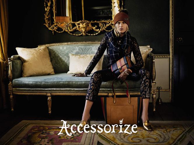 Фото №4 - Accessorize представляет новую рекламную кампанию с Дри Хемингуэй