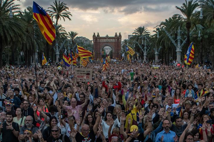 Фото №1 - Один кадр: Каталония