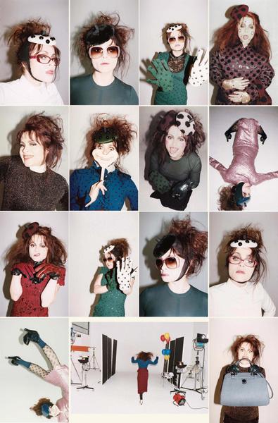 Хелена для кампании Marc Jacobs, осень-зима 2011/12