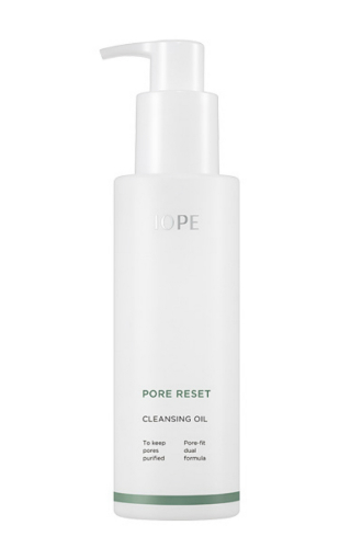 IOPE Cleansing oil pore control + green tea extracts