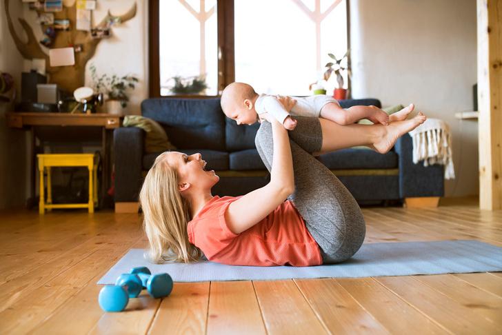 Развивающая гимнастика для грудничков