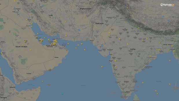 Фото №9 - Как изменился авиатрафик в разных регионах мира во время пандемии