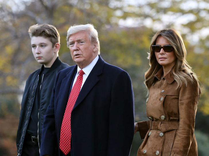 Фото №2 - Чем жизнь Бэррона Трампа отличается от жизни детей других президентов