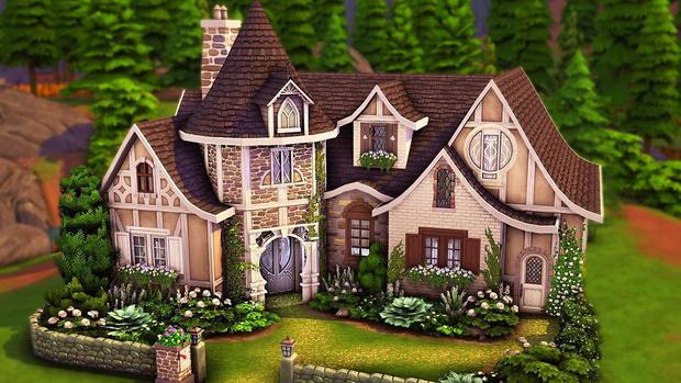 Фото №102 - 35 уютных домиков для «Симс 4», в которых ты сама захочешь поселиться