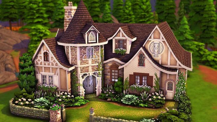 Фото №103 - 35 уютных домиков для «Симс 4», в которых ты сама захочешь поселиться