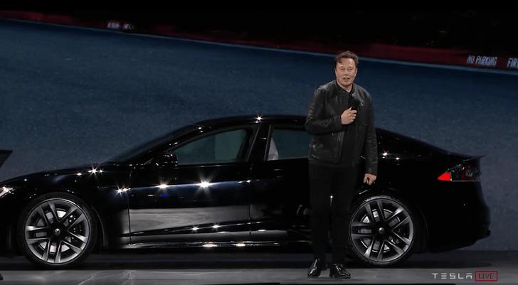 Фото №1 - Илон Маск представил новую Tesla (видео прилагается)