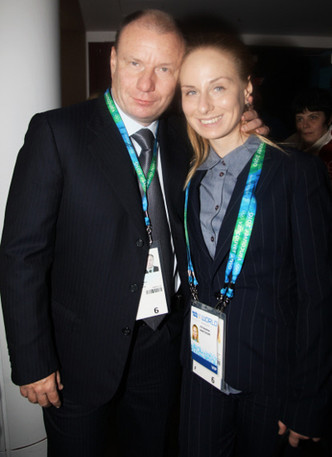 Владимир и Анастасия Потанины фото