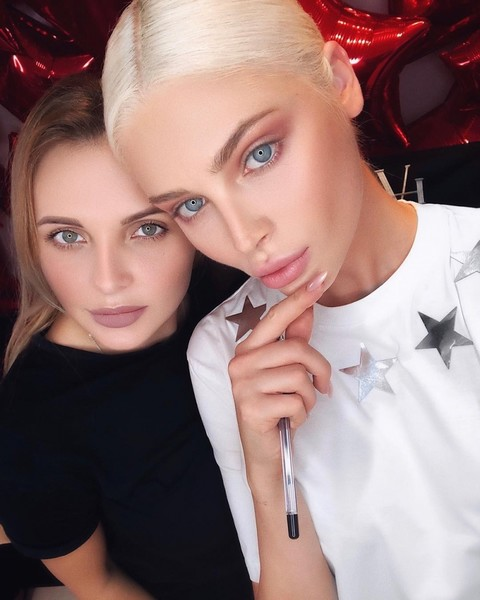 Ирина Кирсанова и Алена Шишкова
