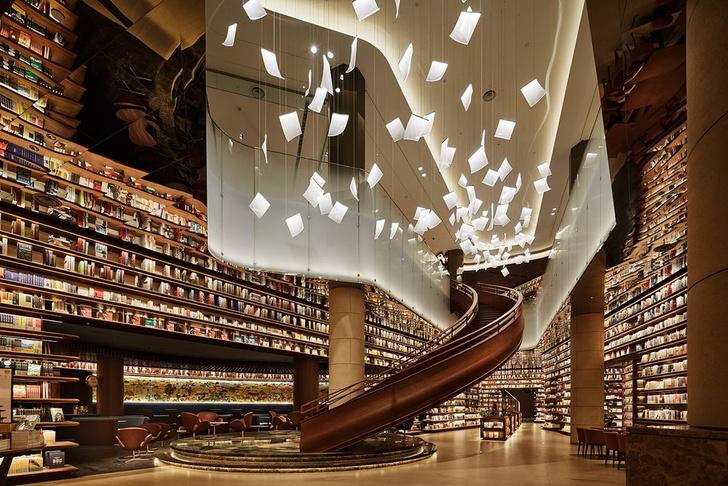 Фото №1 - Двухэтажный книжный магазин в Сиане