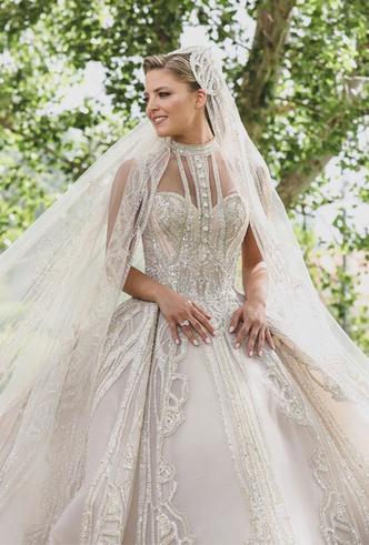 Фото №21 - 10 самых стильных звездных свадеб 2019 года