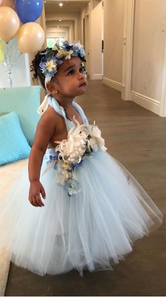 Фото №4 - Милота дня: как малышка Дрим Кардашьян отпраздновала свой День Рождения