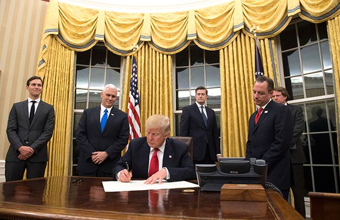 Фото №3 - Белый дом Дональда: кого дразнит Трамп?