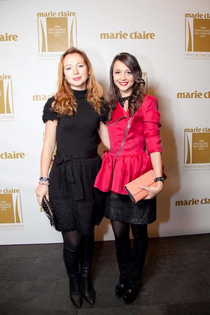 Елена Захарова и Даша Гаузер