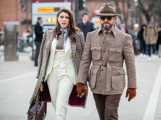 Фото №2 - Как стильно носить галстуки: советы дизайнеров и главных модниц