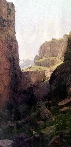 Фото №2 - Кала-и-Шерон — крепость львов