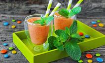 Морковный смузи с маракуйей