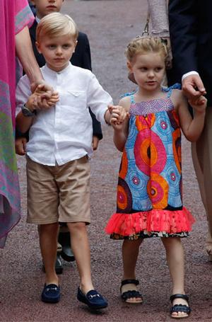 Фото №6 - Княжеская семья Монако проводила лето на традиционном пикнике