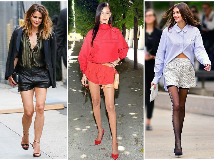 Фото №1 - Микрошорты: как носить самый модный «низ» этого лета