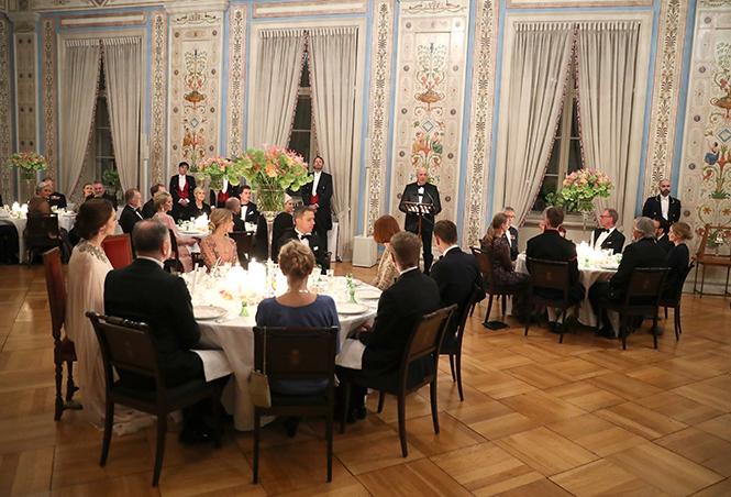 Фото №29 - Кейт Миддлтон и принц Уильям в Норвегии: день первый
