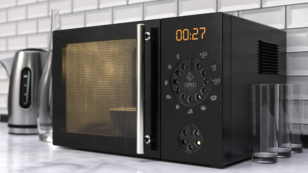 Фото №7 - Питерский художник показал, как бы выглядела современная техника с дисковым набором вместо кнопок