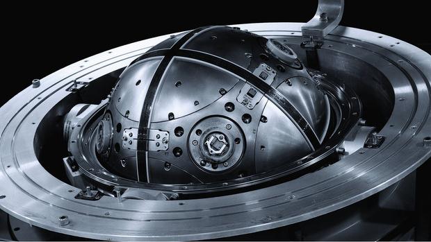 Фото №1 - Система управления баллистической ракеты, которая выглядит как реквизит фантастического фильма