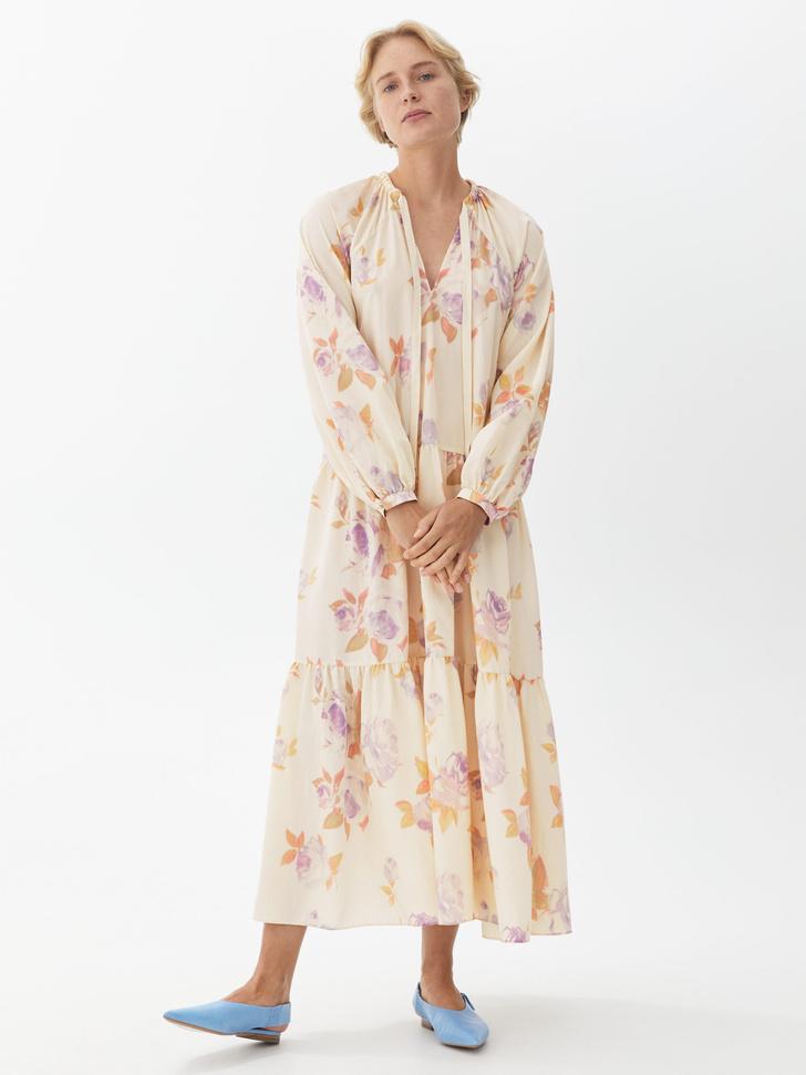 Фото №16 - Летом всем нам нужно платье в цветочек. Вот 20 нежных вариантов