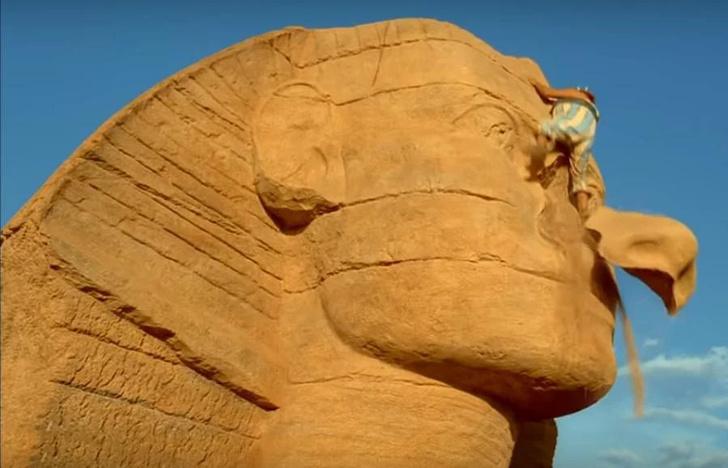Фото №1 - Вот почему у древнеегипетских статуй отбитые носы