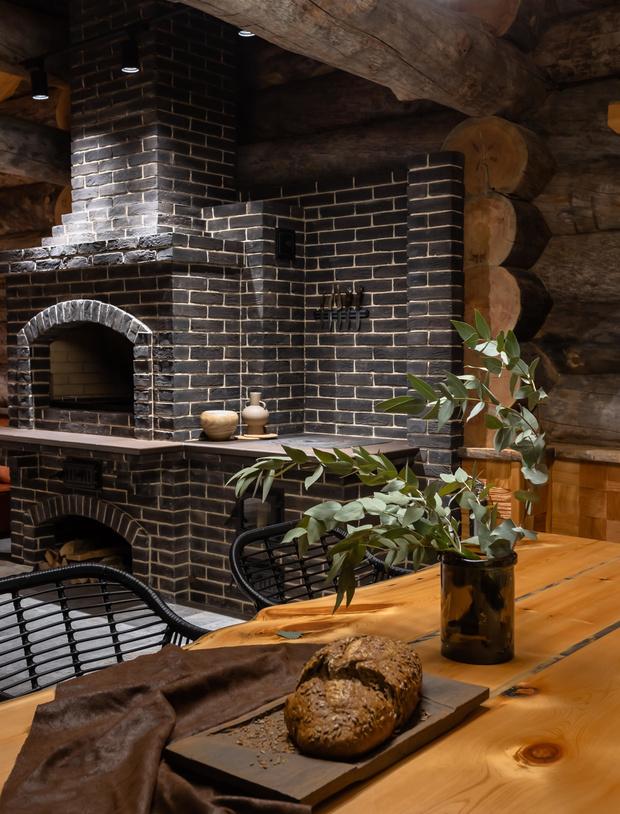 Фото №4 - Деревянная баня с высокотехнологичным дизайном в Подмосковье