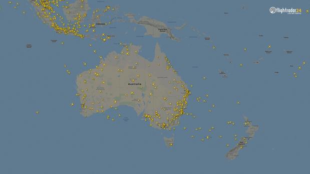 Фото №12 - Как изменился авиатрафик в разных регионах мира во время пандемии