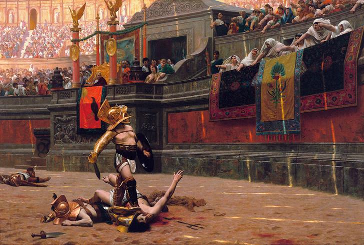 Фото №1 - 2280 лет назад… состоялись первые бои гладиаторов