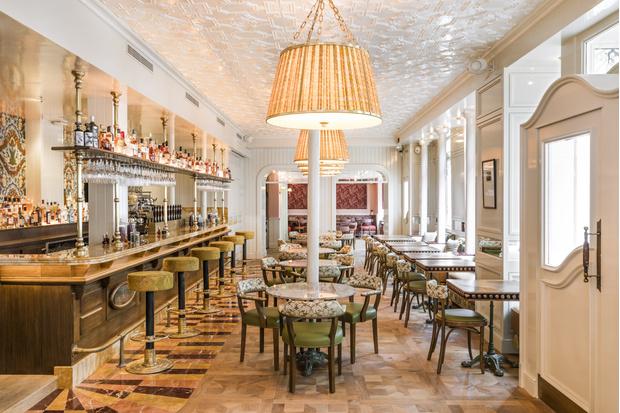 Фото №2 - Ресторан по проекту Лауры Гонсалес в Париже