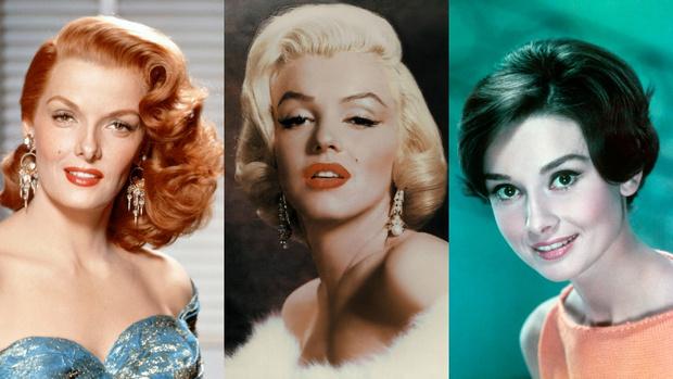 прически 50-х годов на длинные волосы фото примеры звезды