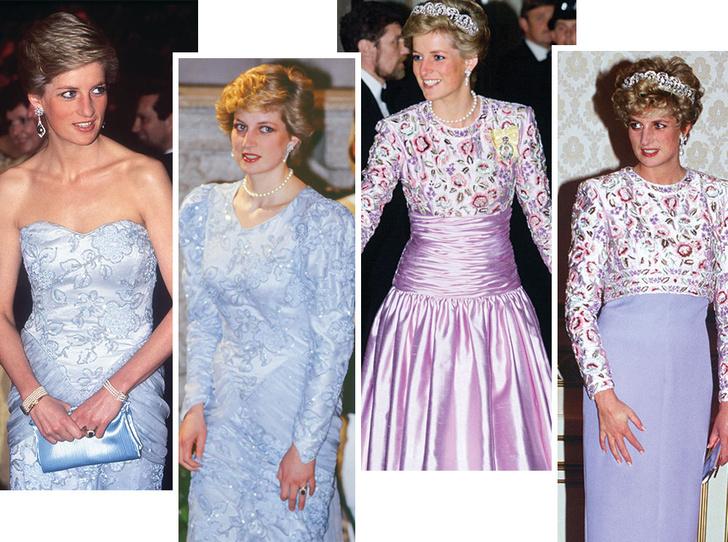 Фото №1 - До/после: как принцесса Диана дарила вторую жизнь старым нарядам