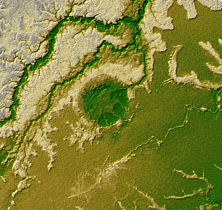 Фото №3 - Пришельцы из космоса: 5 удивительных метеоритных кратеров на нашей планете