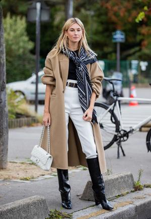 Фото №2 - С чем носить бежевое пальто: модные идеи на любой случай