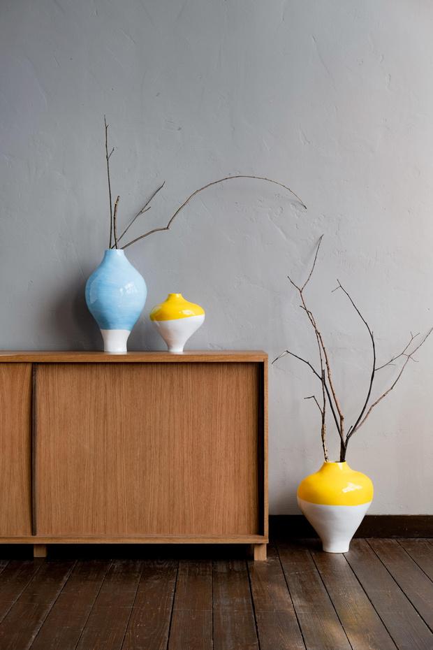 Фото №2 - «Подснежники»: новые вазы Саши Гунги
