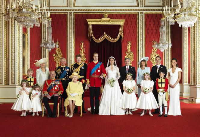 Фото №3 - Почему место отца Меган на свадебном снимке занял принц Уильям
