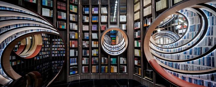 Фото №3 - Футуристичный книжный в Пекине по проекту X+Living