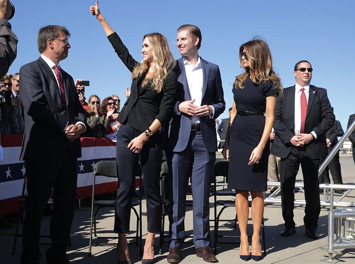Фото №4 - Еще одна из клана Трампа: что нужно знать о Ларе Трамп, младшей невестке президента США
