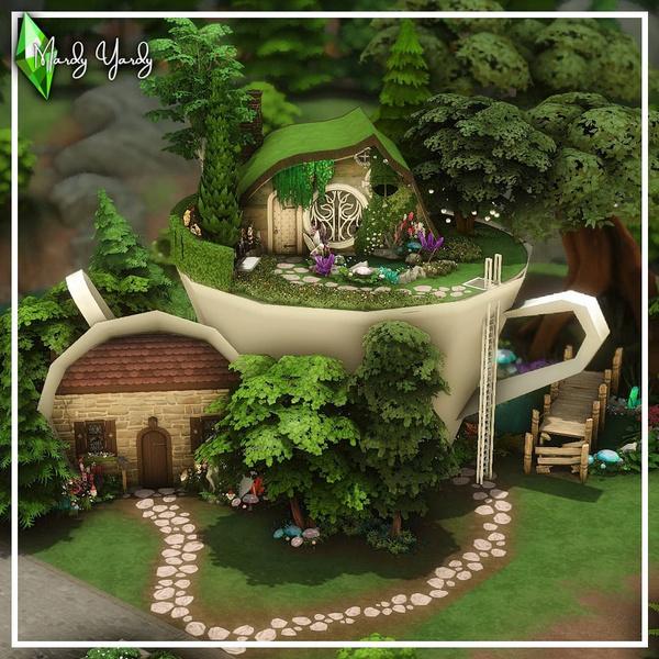 Фото №79 - 35 уютных домиков для «Симс 4», в которых ты сама захочешь поселиться