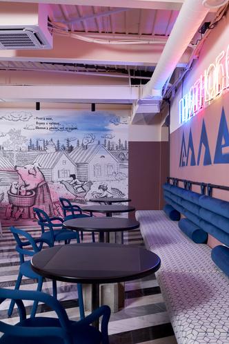 Фото №7 - Корпоративное кафе в историческом центре Томска