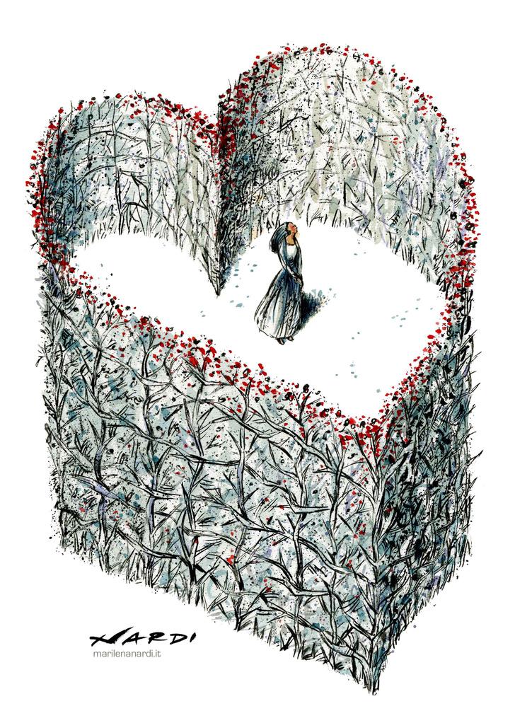 Фото №9 - 50 карикатур про коронавирус международного конкурса в Китае
