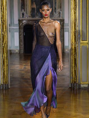Фото №32 - Неделя Высокой моды в Париже: Ulyana Sergeenko Couture F2015