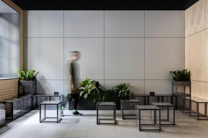 Фото №1 - Офис интернет-компании Skillbox с модульной мебелью