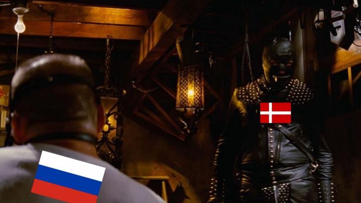Фото №1 - Триумфальная победа с отрицательным результатом: шутки и мемы о провале сборной России на Евро-2020