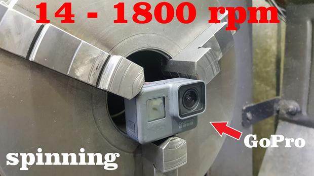Фото №1 - Что будет, если раскрутить камеру GoPro до 1800 об/мин (видео)