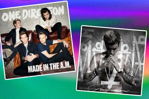 Фото №1 - Бибер и One Direction: чей альбом возглавил чарты?