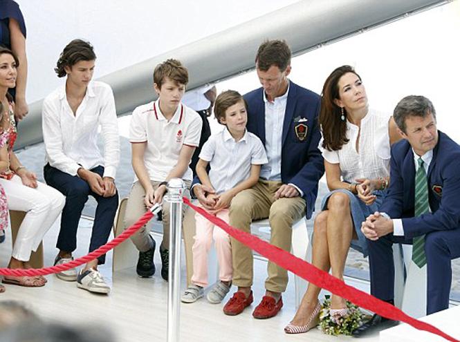 Фото №4 - Королевская семья Дании на Олимпиаде-2016 в Рио