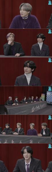 Фото №1 - «Это будет наша лучшая работа»: BTS вышли в прямой эфир, чтобы рассказать о своем камбэке